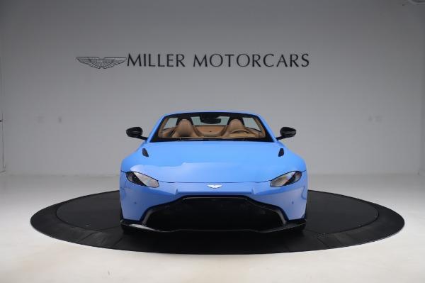 New 2021 Aston Martin Vantage Roadster for sale Call for price at Alfa Romeo of Westport in Westport CT 06880 11