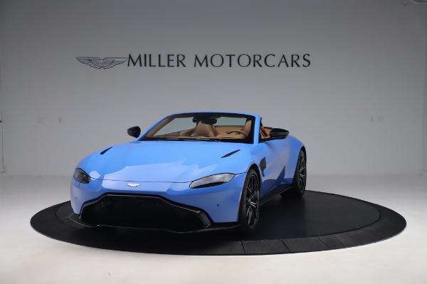 New 2021 Aston Martin Vantage Roadster for sale Call for price at Alfa Romeo of Westport in Westport CT 06880 12