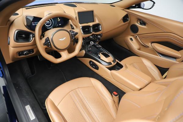 New 2021 Aston Martin Vantage Roadster for sale Call for price at Alfa Romeo of Westport in Westport CT 06880 13