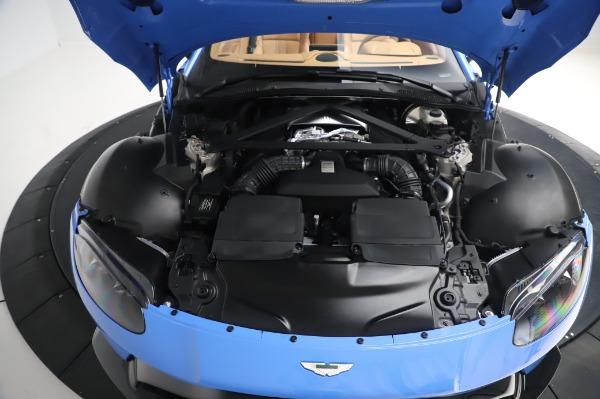 New 2021 Aston Martin Vantage Roadster for sale Call for price at Alfa Romeo of Westport in Westport CT 06880 23
