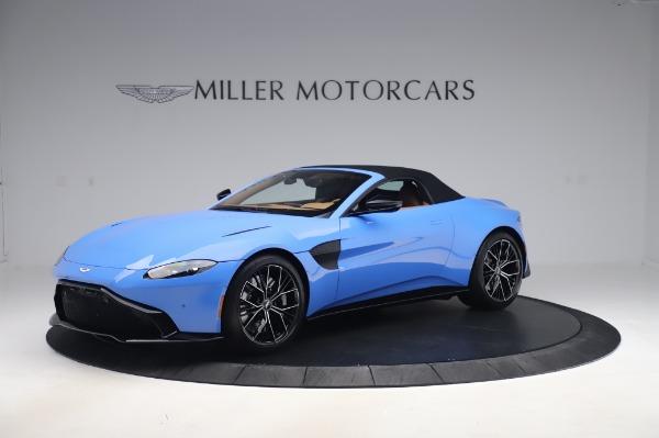 New 2021 Aston Martin Vantage Roadster for sale Call for price at Alfa Romeo of Westport in Westport CT 06880 26