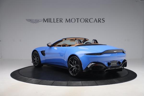 New 2021 Aston Martin Vantage Roadster for sale Call for price at Alfa Romeo of Westport in Westport CT 06880 4