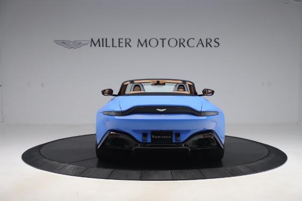 New 2021 Aston Martin Vantage Roadster for sale Call for price at Alfa Romeo of Westport in Westport CT 06880 5