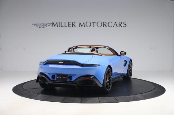 New 2021 Aston Martin Vantage Roadster for sale Call for price at Alfa Romeo of Westport in Westport CT 06880 6