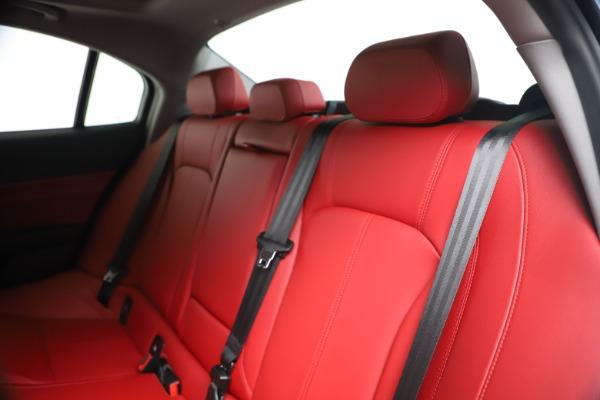 New 2020 Alfa Romeo Giulia Q4 for sale $44,845 at Alfa Romeo of Westport in Westport CT 06880 18