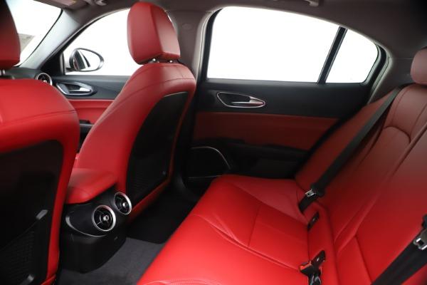 New 2020 Alfa Romeo Giulia Q4 for sale $44,845 at Alfa Romeo of Westport in Westport CT 06880 19