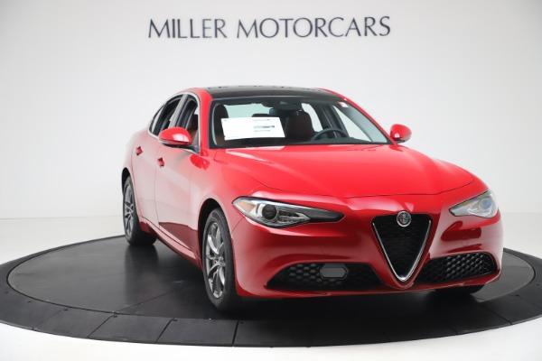 New 2020 Alfa Romeo Giulia Q4 for sale $44,845 at Alfa Romeo of Westport in Westport CT 06880 11