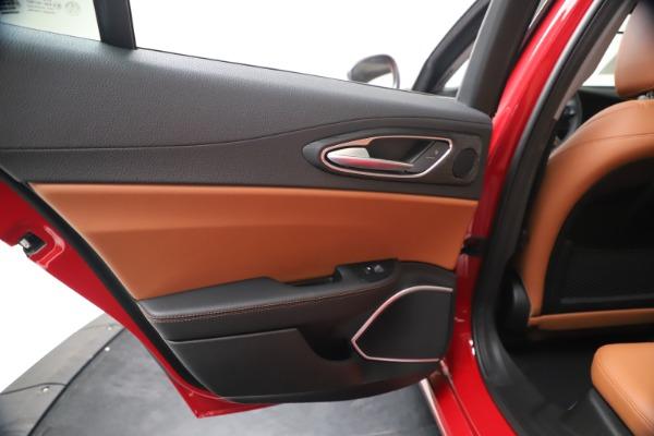 New 2020 Alfa Romeo Giulia Q4 for sale $44,845 at Alfa Romeo of Westport in Westport CT 06880 21
