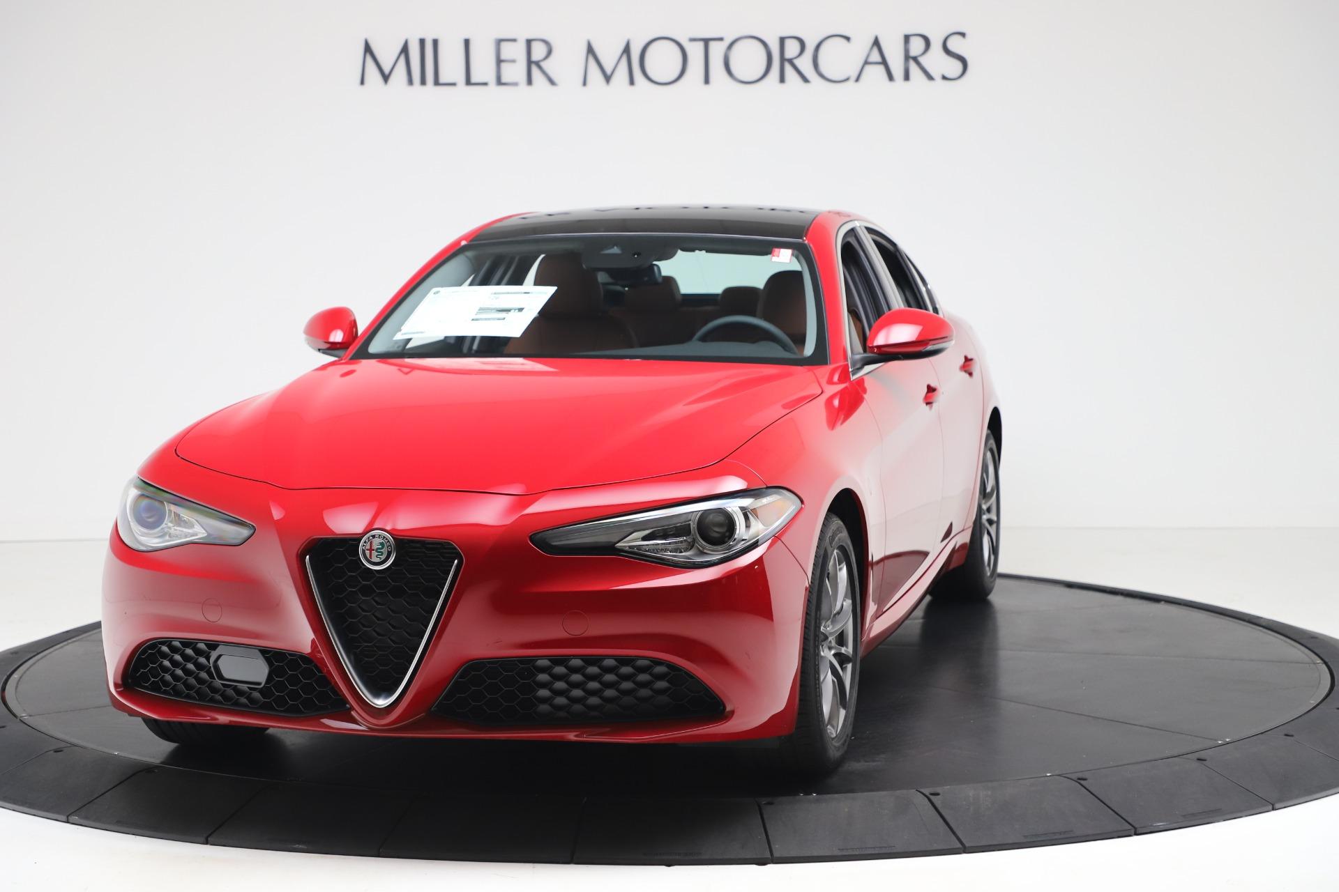 New 2020 Alfa Romeo Giulia Q4 for sale $40,466 at Alfa Romeo of Westport in Westport CT 06880 1