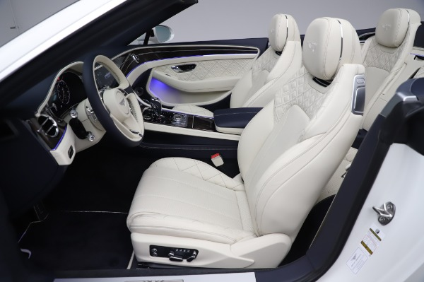 New 2020 Bentley Continental GTC W12 First Edition for sale $304,515 at Alfa Romeo of Westport in Westport CT 06880 28