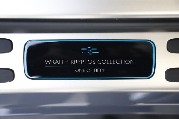 New 2021 Rolls-Royce Wraith KRYPTOS for sale $450,550 at Alfa Romeo of Westport in Westport CT 06880 26