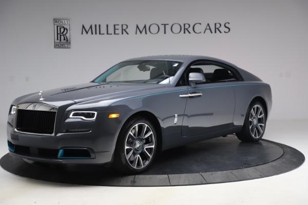 New 2021 Rolls-Royce Wraith KRYPTOS for sale $450,550 at Alfa Romeo of Westport in Westport CT 06880 3