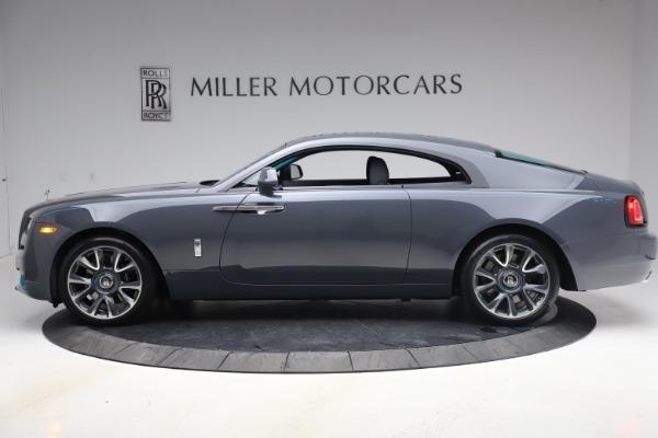 New 2021 Rolls-Royce Wraith KRYPTOS for sale $450,550 at Alfa Romeo of Westport in Westport CT 06880 4