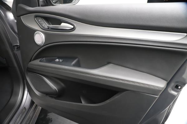 New 2020 Alfa Romeo Stelvio Ti Sport Q4 for sale $55,995 at Alfa Romeo of Westport in Westport CT 06880 25