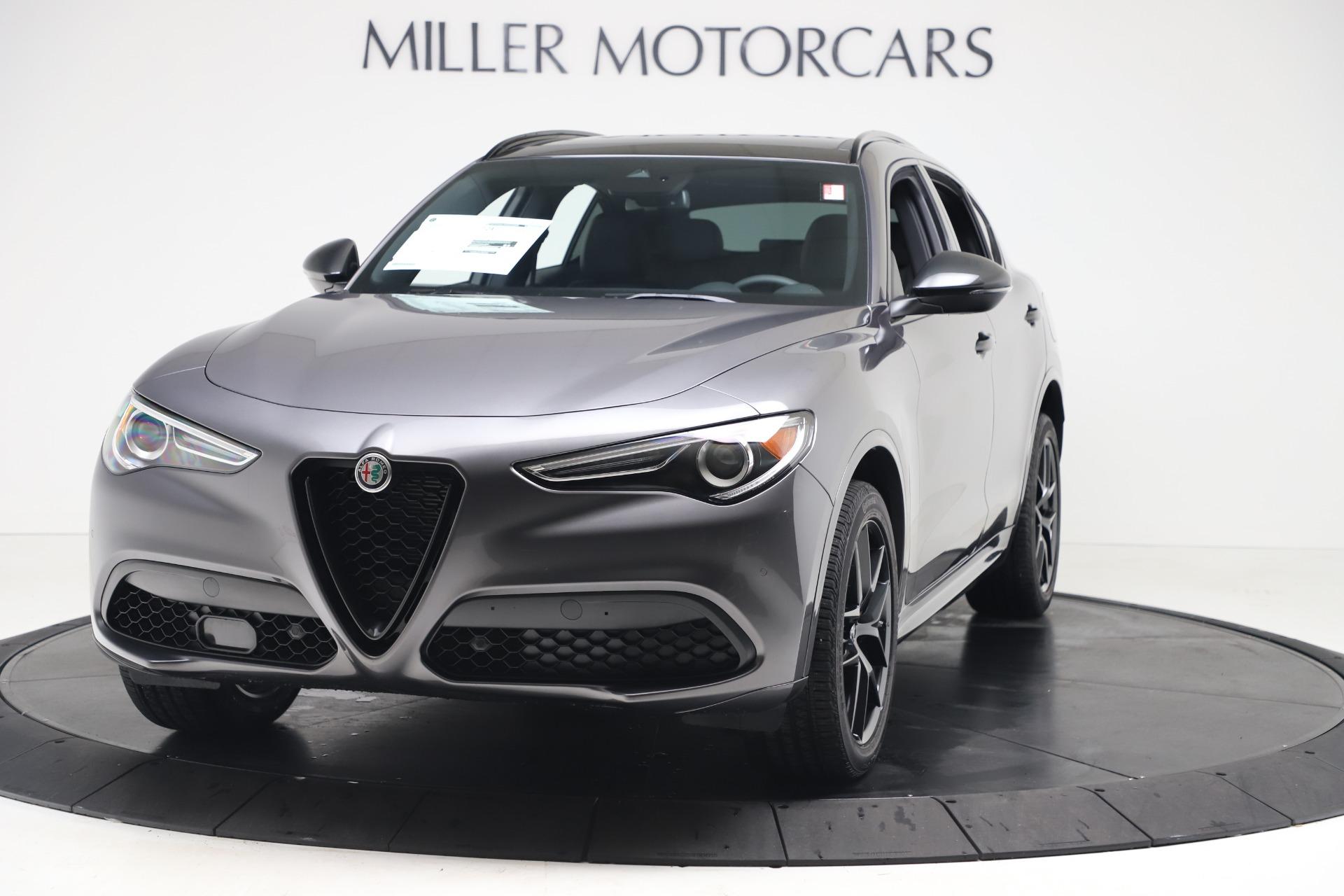 New 2020 Alfa Romeo Stelvio Ti Sport Q4 for sale $55,995 at Alfa Romeo of Westport in Westport CT 06880 1