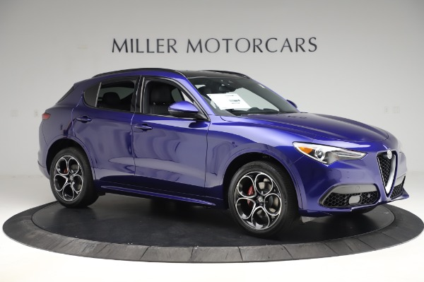 New 2020 Alfa Romeo Stelvio Ti Sport Q4 for sale $57,045 at Alfa Romeo of Westport in Westport CT 06880 10