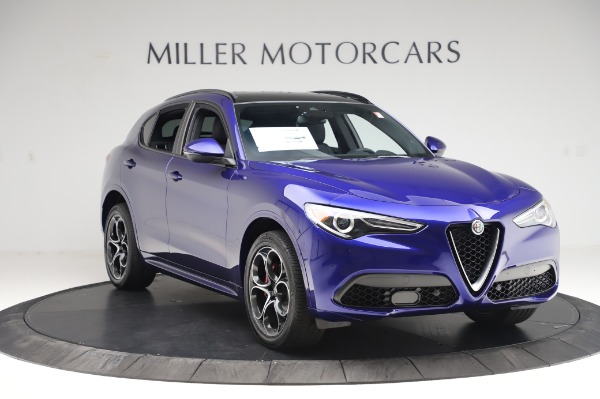 New 2020 Alfa Romeo Stelvio Ti Sport Q4 for sale $57,045 at Alfa Romeo of Westport in Westport CT 06880 11