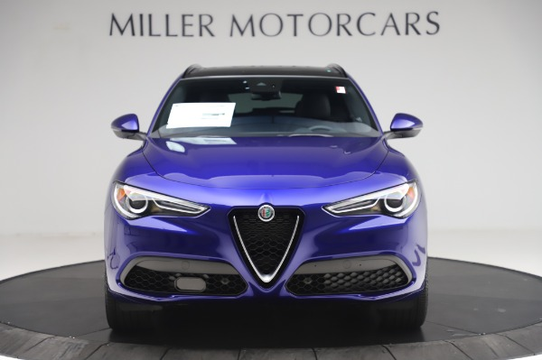 New 2020 Alfa Romeo Stelvio Ti Sport Q4 for sale $57,045 at Alfa Romeo of Westport in Westport CT 06880 12