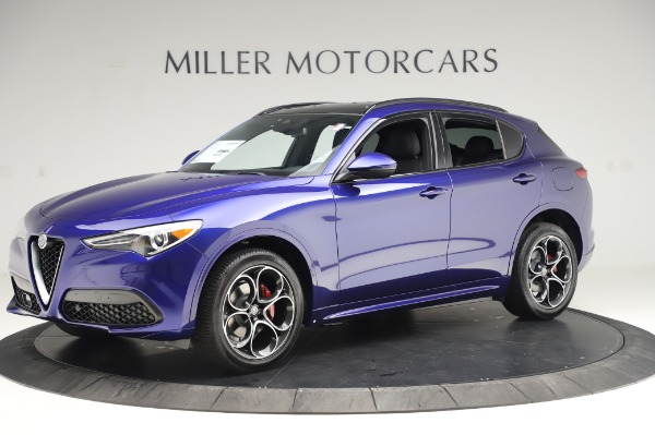 New 2020 Alfa Romeo Stelvio Ti Sport Q4 for sale $57,045 at Alfa Romeo of Westport in Westport CT 06880 2