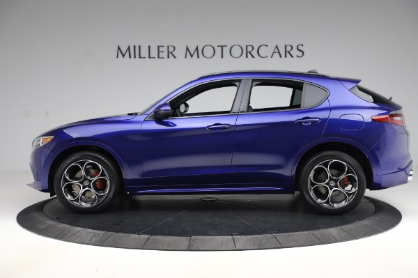 New 2020 Alfa Romeo Stelvio Ti Sport Q4 for sale $57,045 at Alfa Romeo of Westport in Westport CT 06880 3