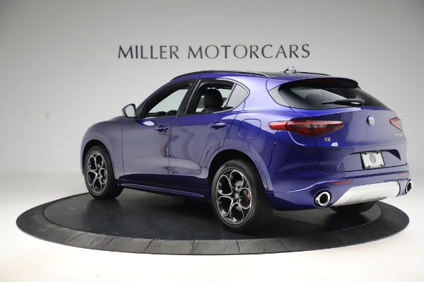 New 2020 Alfa Romeo Stelvio Ti Sport Q4 for sale $57,045 at Alfa Romeo of Westport in Westport CT 06880 4