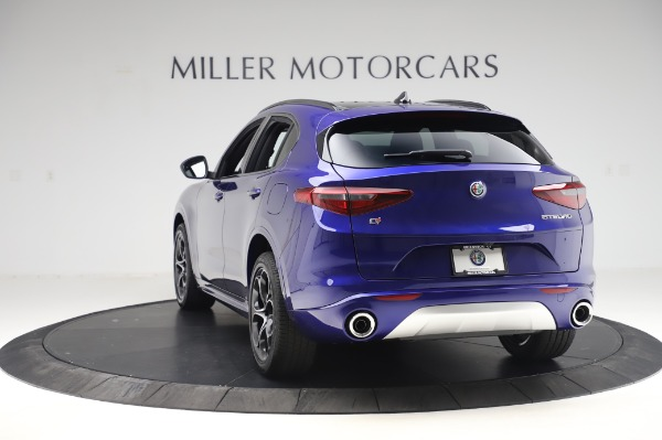 New 2020 Alfa Romeo Stelvio Ti Sport Q4 for sale $57,045 at Alfa Romeo of Westport in Westport CT 06880 5