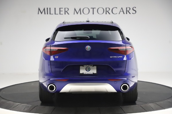 New 2020 Alfa Romeo Stelvio Ti Sport Q4 for sale $57,045 at Alfa Romeo of Westport in Westport CT 06880 6