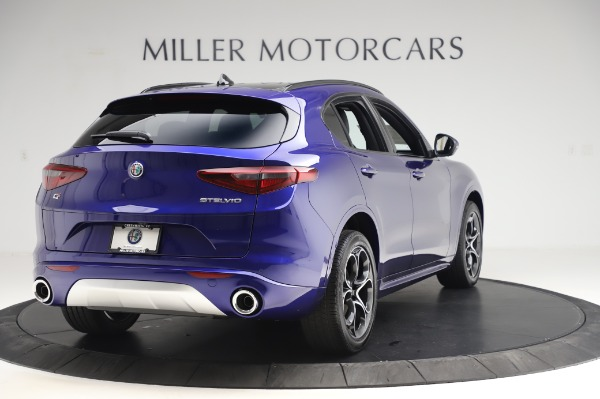 New 2020 Alfa Romeo Stelvio Ti Sport Q4 for sale $57,045 at Alfa Romeo of Westport in Westport CT 06880 7