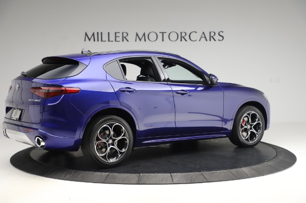 New 2020 Alfa Romeo Stelvio Ti Sport Q4 for sale $57,045 at Alfa Romeo of Westport in Westport CT 06880 8
