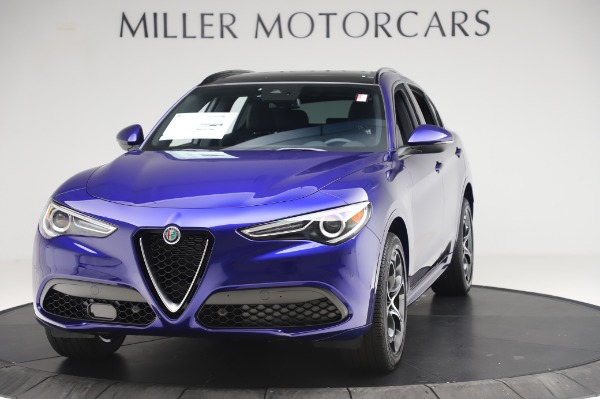 New 2020 Alfa Romeo Stelvio Ti Sport Q4 for sale $57,045 at Alfa Romeo of Westport in Westport CT 06880 1