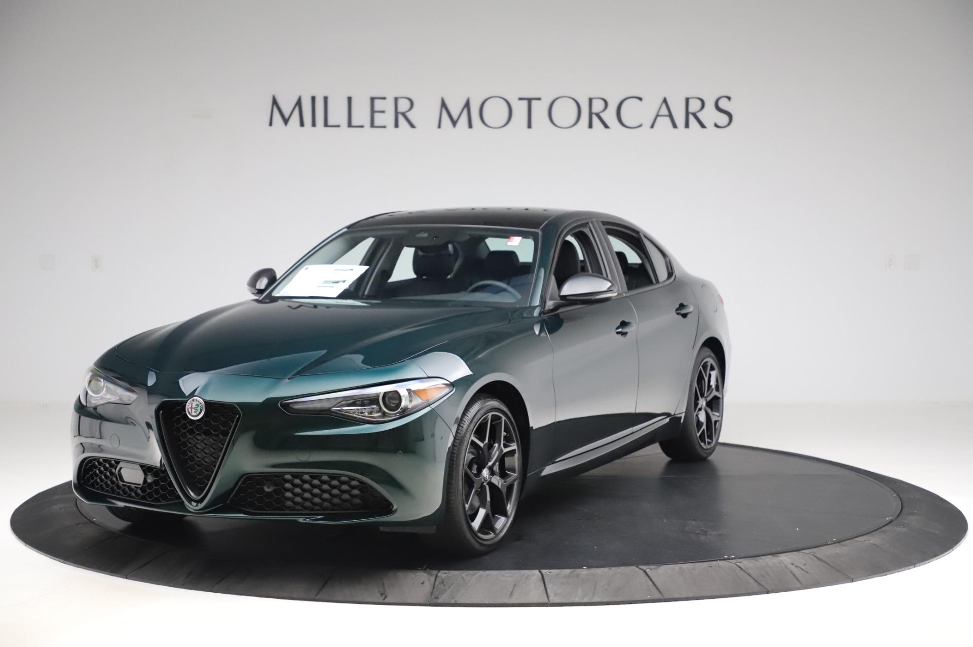 New 2020 Alfa Romeo Giulia Ti Q4 for sale $49,745 at Alfa Romeo of Westport in Westport CT 06880 1