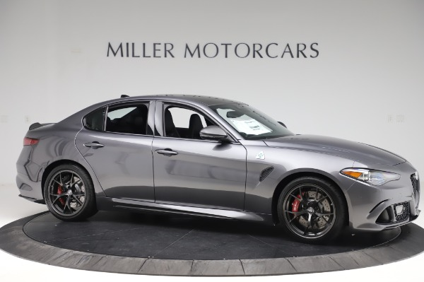 New 2020 Alfa Romeo Giulia Quadrifoglio for sale $87,445 at Alfa Romeo of Westport in Westport CT 06880 10