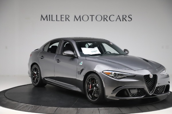 New 2020 Alfa Romeo Giulia Quadrifoglio for sale $87,445 at Alfa Romeo of Westport in Westport CT 06880 11
