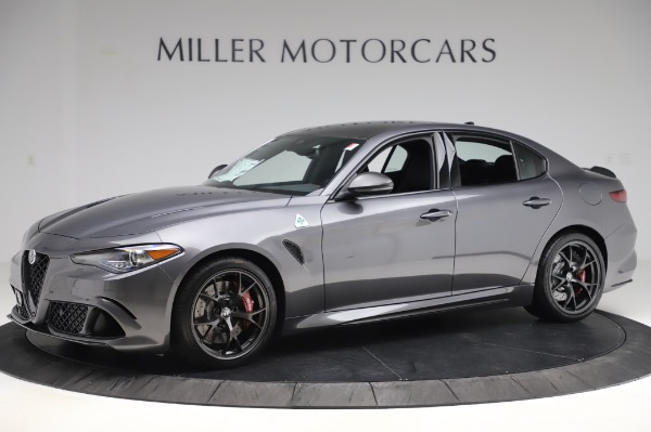 New 2020 Alfa Romeo Giulia Quadrifoglio for sale $87,445 at Alfa Romeo of Westport in Westport CT 06880 2