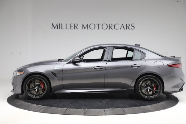 New 2020 Alfa Romeo Giulia Quadrifoglio for sale $87,445 at Alfa Romeo of Westport in Westport CT 06880 3