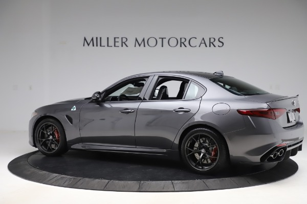 New 2020 Alfa Romeo Giulia Quadrifoglio for sale $87,445 at Alfa Romeo of Westport in Westport CT 06880 4