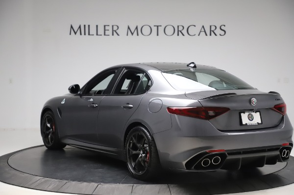 New 2020 Alfa Romeo Giulia Quadrifoglio for sale $87,445 at Alfa Romeo of Westport in Westport CT 06880 5