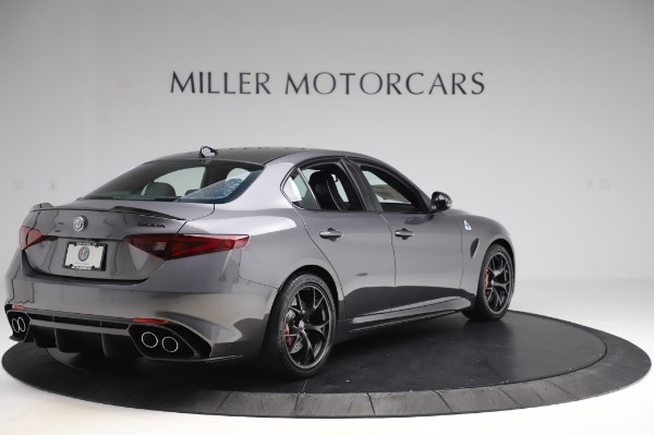 New 2020 Alfa Romeo Giulia Quadrifoglio for sale $87,445 at Alfa Romeo of Westport in Westport CT 06880 7