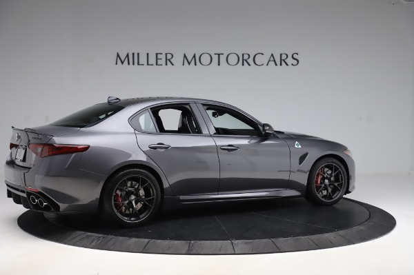 New 2020 Alfa Romeo Giulia Quadrifoglio for sale $87,445 at Alfa Romeo of Westport in Westport CT 06880 8