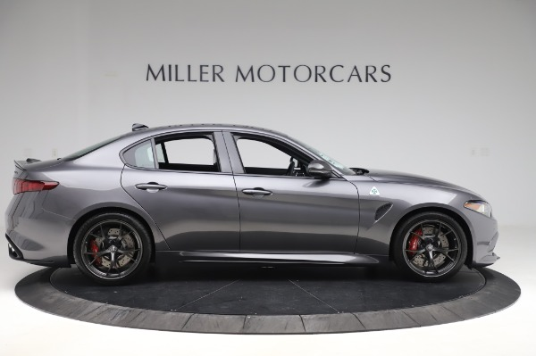 New 2020 Alfa Romeo Giulia Quadrifoglio for sale $87,445 at Alfa Romeo of Westport in Westport CT 06880 9