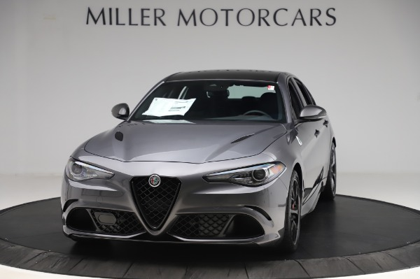 New 2020 Alfa Romeo Giulia Quadrifoglio for sale $87,445 at Alfa Romeo of Westport in Westport CT 06880 1