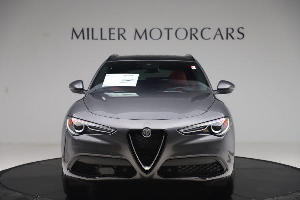 New 2020 Alfa Romeo Stelvio Sport Q4 for sale $50,945 at Alfa Romeo of Westport in Westport CT 06880 12