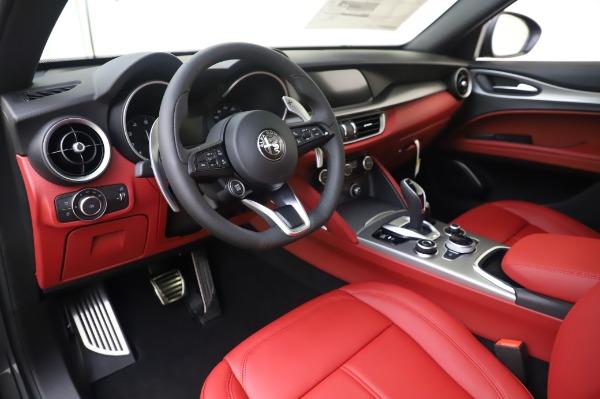 New 2020 Alfa Romeo Stelvio Sport Q4 for sale $50,945 at Alfa Romeo of Westport in Westport CT 06880 13