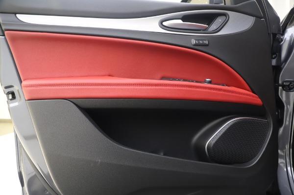 New 2020 Alfa Romeo Stelvio Sport Q4 for sale $50,945 at Alfa Romeo of Westport in Westport CT 06880 17
