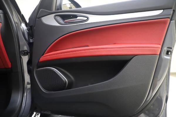 New 2020 Alfa Romeo Stelvio Sport Q4 for sale $50,945 at Alfa Romeo of Westport in Westport CT 06880 21