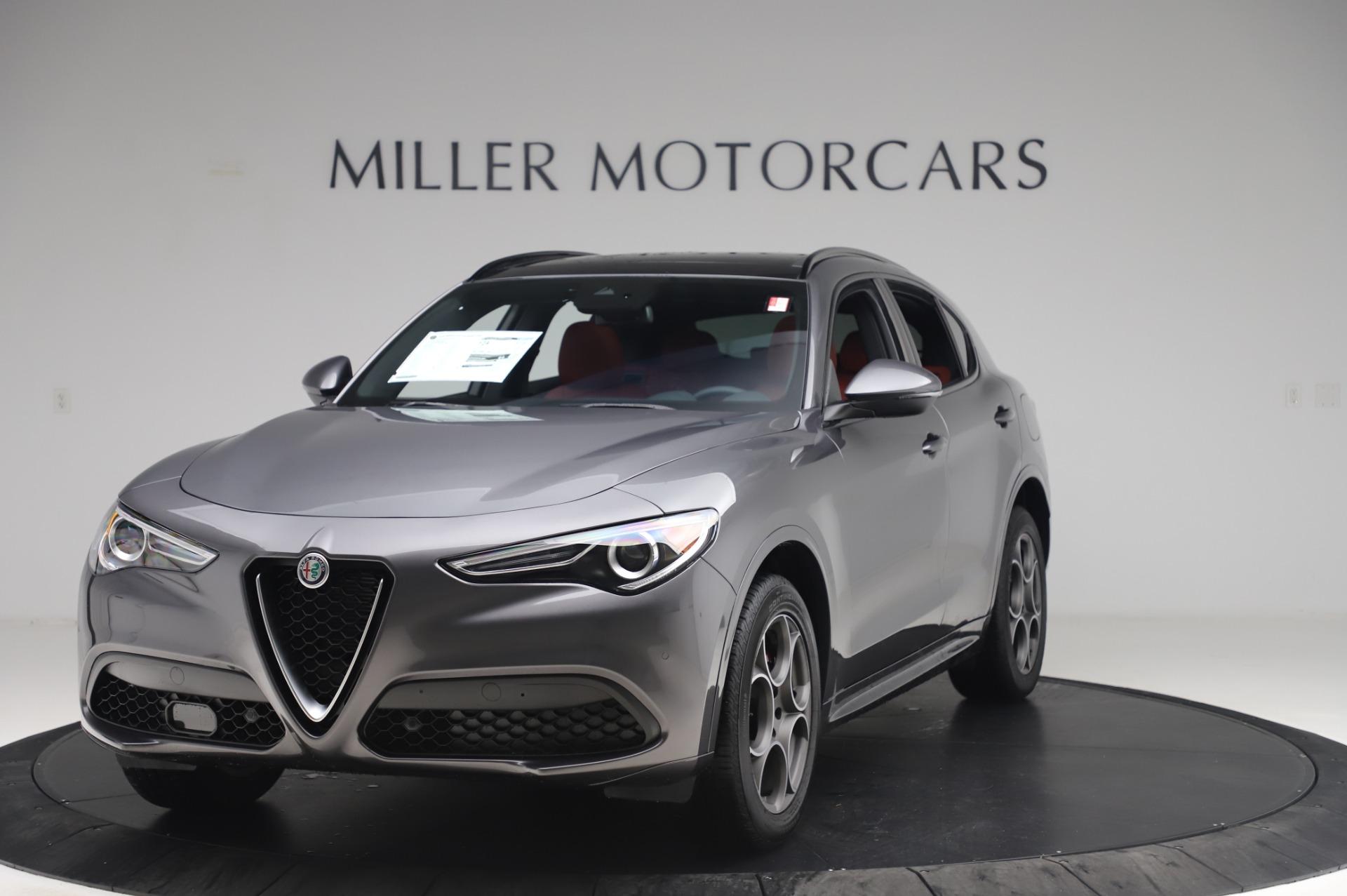New 2020 Alfa Romeo Stelvio Sport Q4 for sale $50,945 at Alfa Romeo of Westport in Westport CT 06880 1