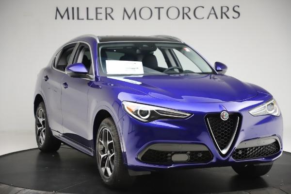 New 2020 Alfa Romeo Stelvio Ti Q4 for sale $50,695 at Alfa Romeo of Westport in Westport CT 06880 11