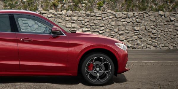 New 2020 Alfa Romeo Stelvio Ti Lusso Q4 for sale Sold at Alfa Romeo of Westport in Westport CT 06880 3