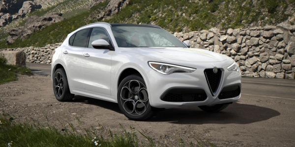 New 2020 Alfa Romeo Stelvio Ti Lusso Q4 for sale $54,145 at Alfa Romeo of Westport in Westport CT 06880 2