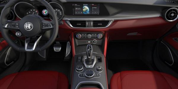 New 2020 Alfa Romeo Stelvio Ti Lusso Q4 for sale $54,145 at Alfa Romeo of Westport in Westport CT 06880 4